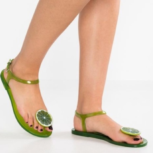 2a20e6549 Katy perry collections shoes katy perry the geli lime sandals jpg 580x579 Jelly  sandals katy perry